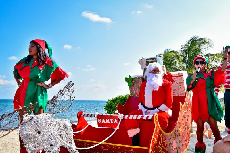 Christmas In Cancun.Celebrating Christmas New Years At Villa Del Palmar Cancun