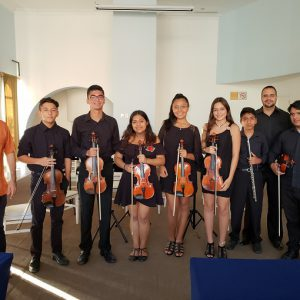 The Eagle's Wings Foundation Receives a Violin Donation!