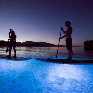 LED Paddleboarding