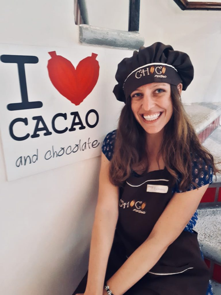 Brittany's Travels at Choco Mueso Puerto Vallarta