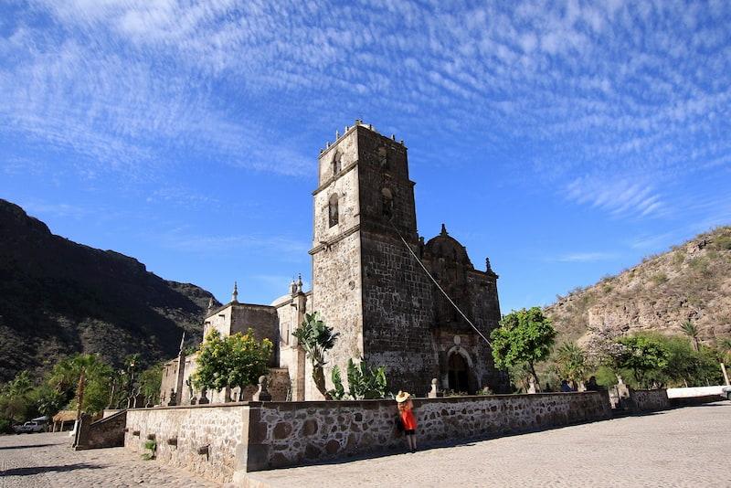 San Javier Mission Loreto Baja California