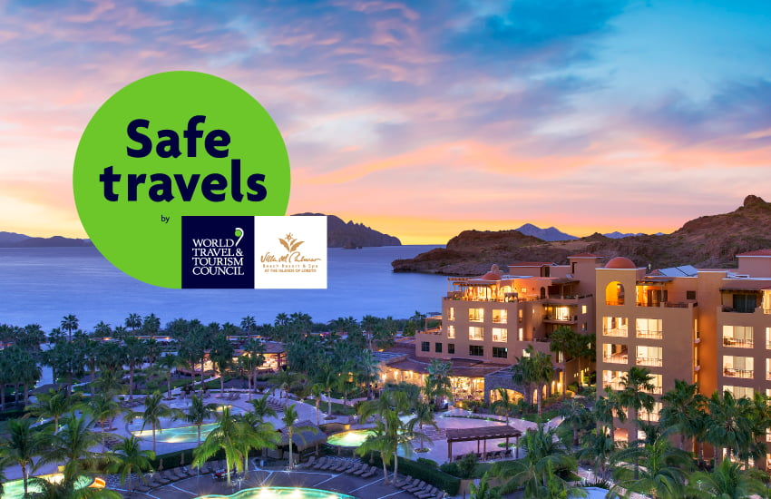"""Villa del Palmar at the Islands of Loreto Earns """"Safe Travel Seal"""" from WTTC"""