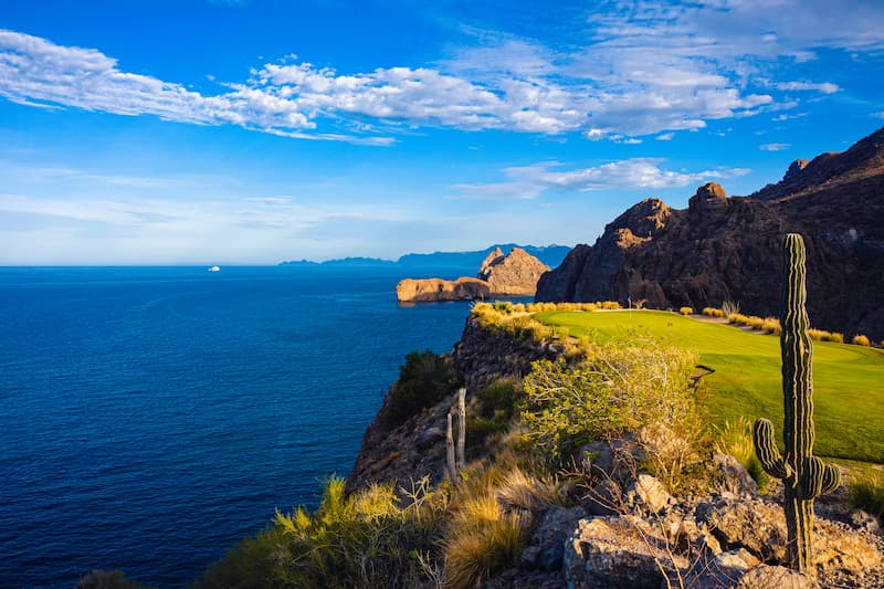 TPC Danzante Bay Sea of Cortez view