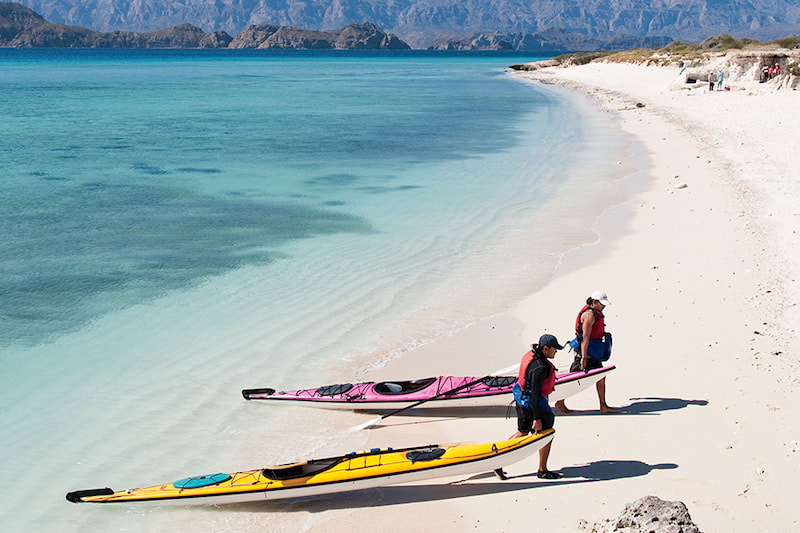 what to do in loreto - kayak