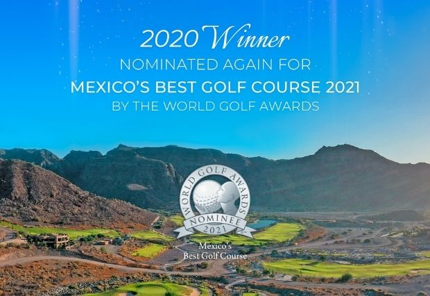 TPC Danzante Bay Nominated in the World Golf Awards 2021