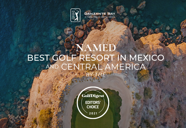 2021 Golf Digest Editors' Choice Awards for Villa del Palmar Loreto