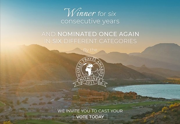 World Travel Awards nomination for Villa del Palmar Loreto