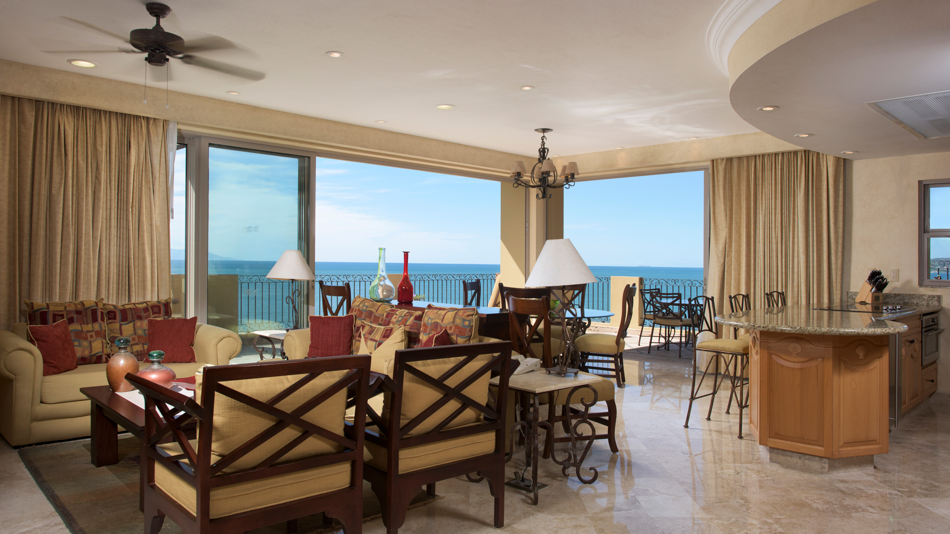 Three Bedroom Ocean Front Suite
