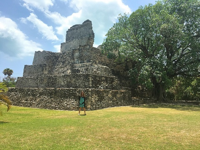 El Meco Mayan Ruins in Cancun
