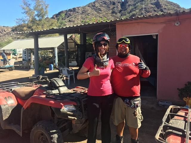 ATV Tour at the Islands of Loreto