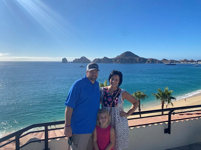 Member Ashley Antley Visits Cabo